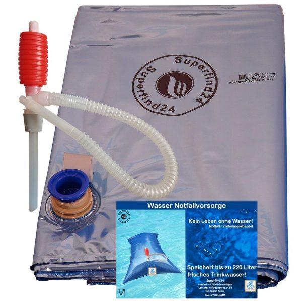 Wasserbeutel-220-Liter-Fassungsvermögen